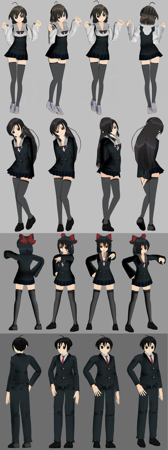 SchoolDays model by XenoAisam