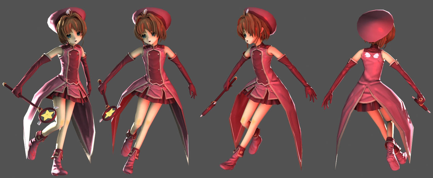Card Captor Sakura 3D by XenoAisam