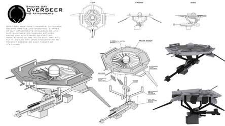 SPECTRE UAV Overseer by XenoAisam