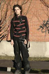 Straitjacket, patchwork pants by Zoluna