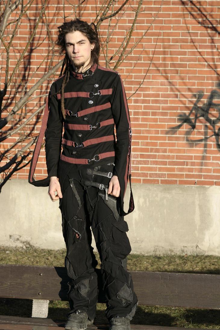 Straitjacket, patchwork pants by Zoluna on DeviantArt
