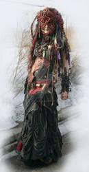 porcupine woman version2 by Zoluna