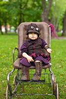 steampunk lettel girl by Zoluna