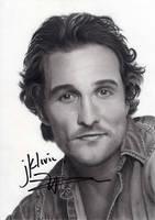 Matthew McConaughey by williamleafe