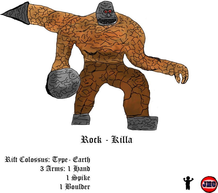 Rift Colossus: Rock Killa by Velase85