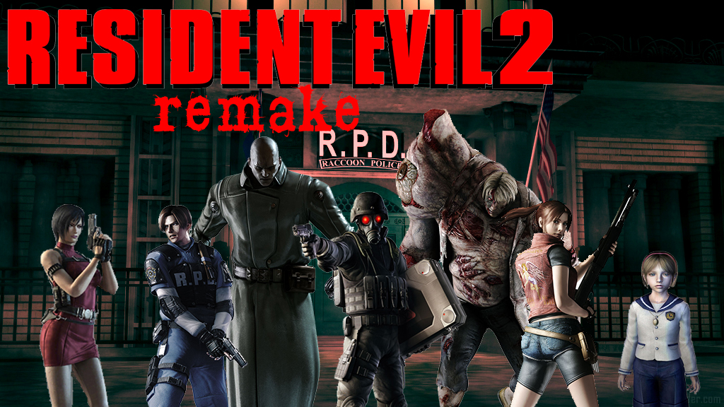 Resident Evil 2 Remake Fan Poster By Bloodfromhate On Deviantart