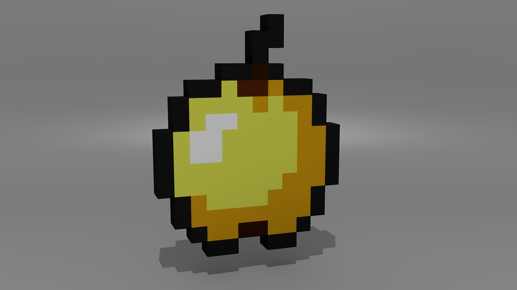 Minecraft Golden Apple Wallpaper Pin Minecraft Apple Wa...