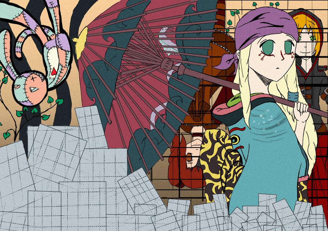 Cassi Cosplay: Mononoke by Wakarimasen-Tori
