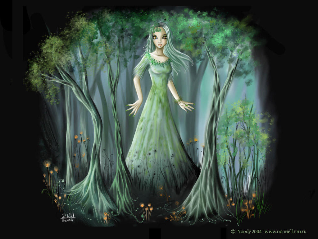 The forest nymph by noody666