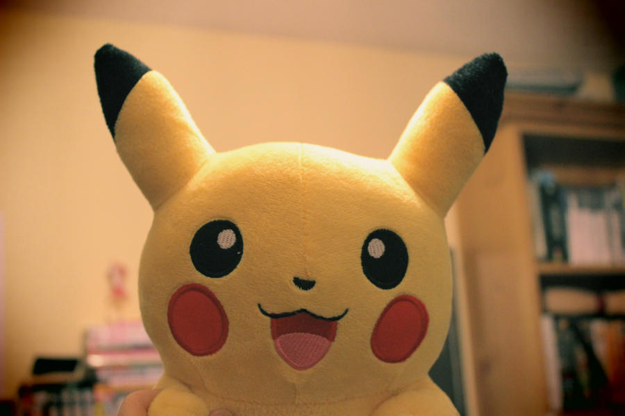 Pikachu - Toy Camera Version by mscupcake91