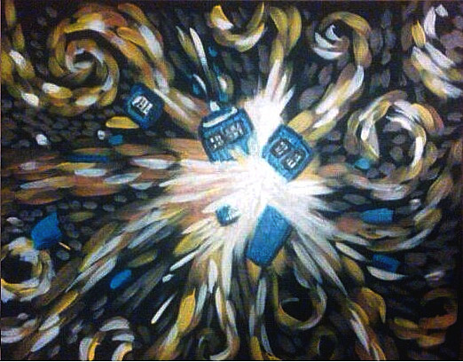 tardis art exploding - photo #28