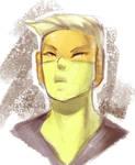 Sketch - Topaz from Steven Universe