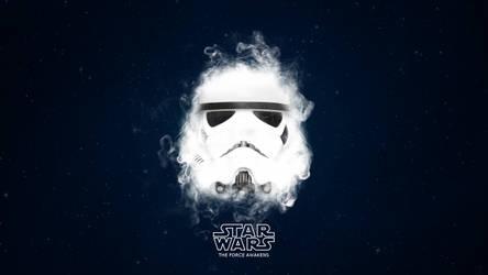 Star Wars - Stormtrooper - The Force Awakens by TLDesignn