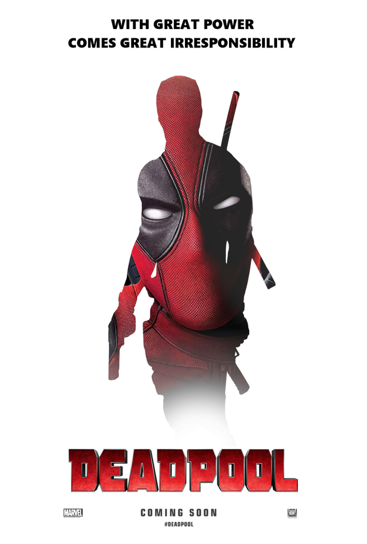 Deadpool Movie Poster #2 by TLDesignn on DeviantArt