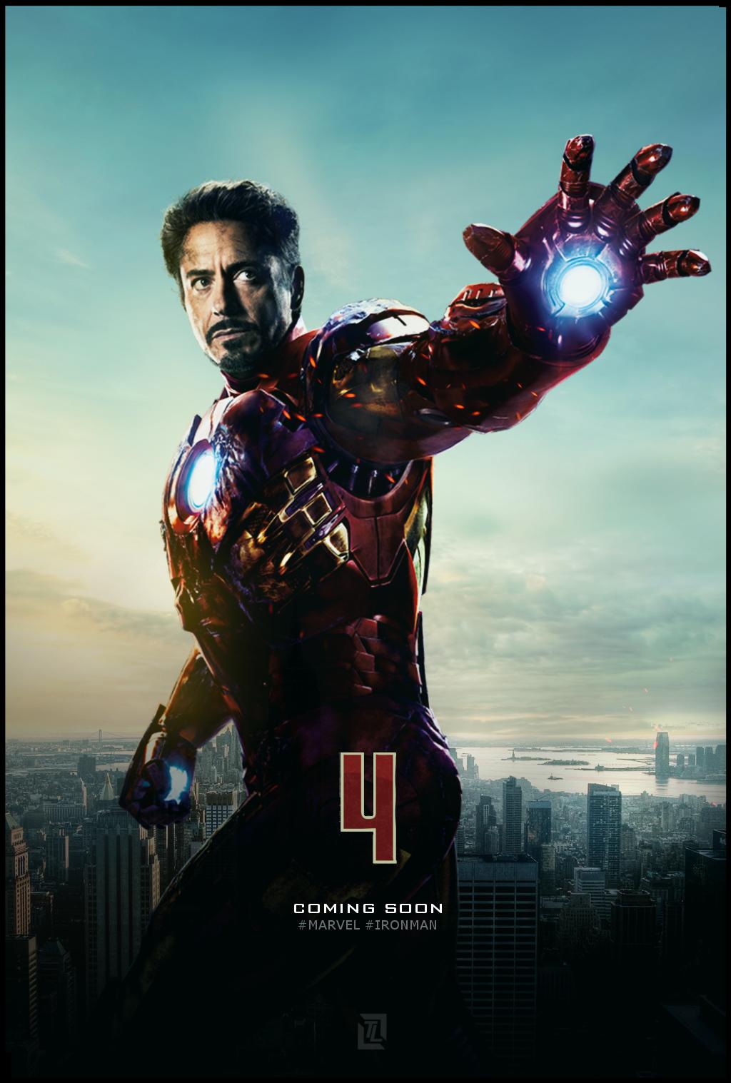Iron Man 4 Poster by TLDesignn on DeviantArt