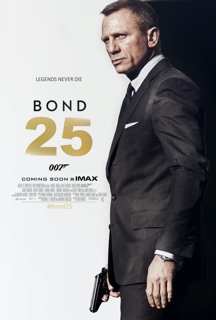 Bond 25 Teaser Poster by TLDesignn on DeviantArt Daniel Craig