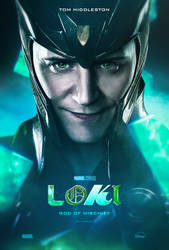 Loki TV series poster by TLDesignn