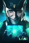 Loki TV series poster #2 by TLDesignn