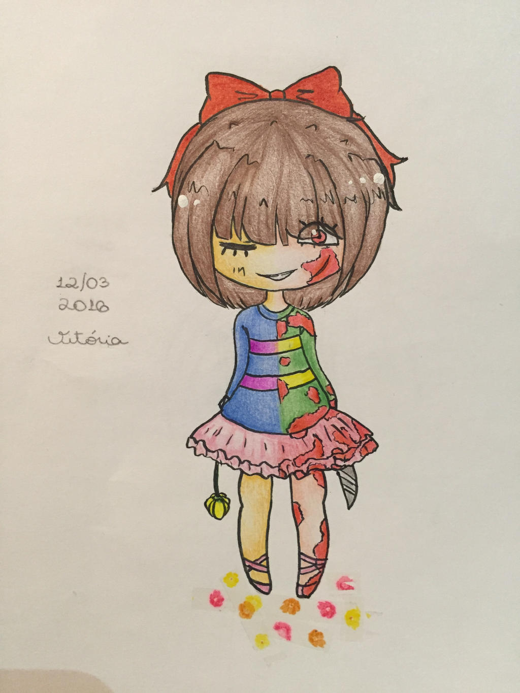 How to Draw Frisk from Undertale, Step by Step, Video Game ...