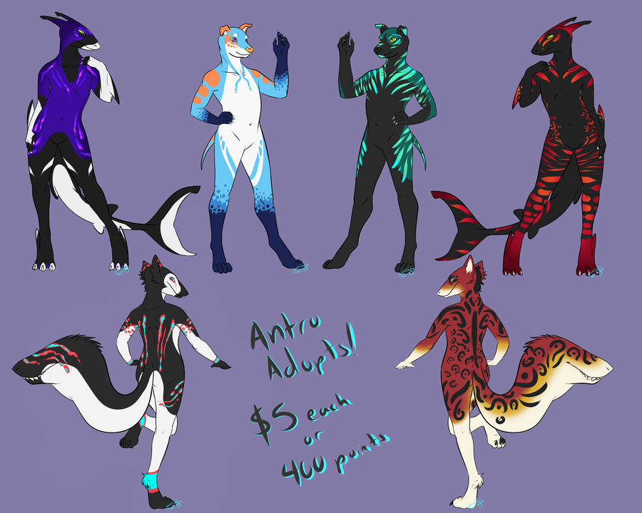 Anthro Adopts by Wally-Burger