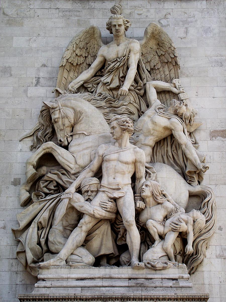 Arc de Triomphe - Statue 3 by nekosnap on DeviantArt