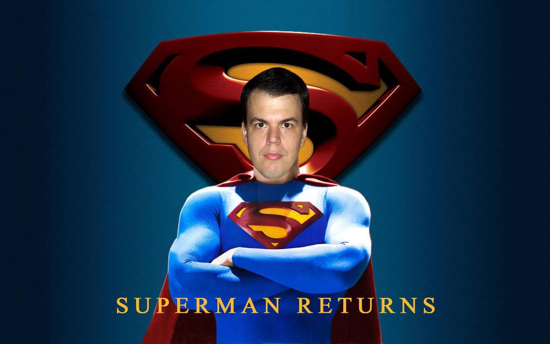 Superman Returns Remake Wallpaper 001 By Super Tybone82 On