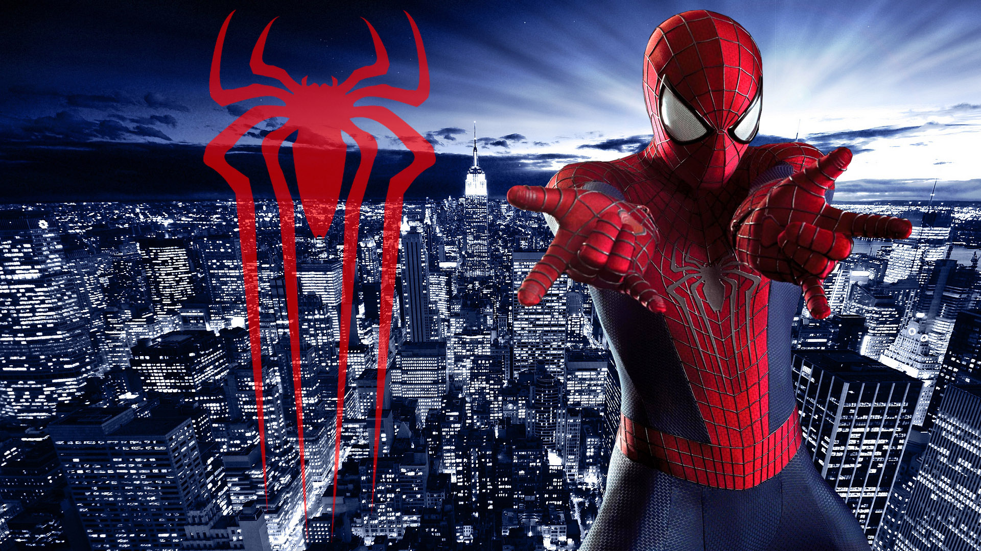 Amazing spider man logo wallpaper