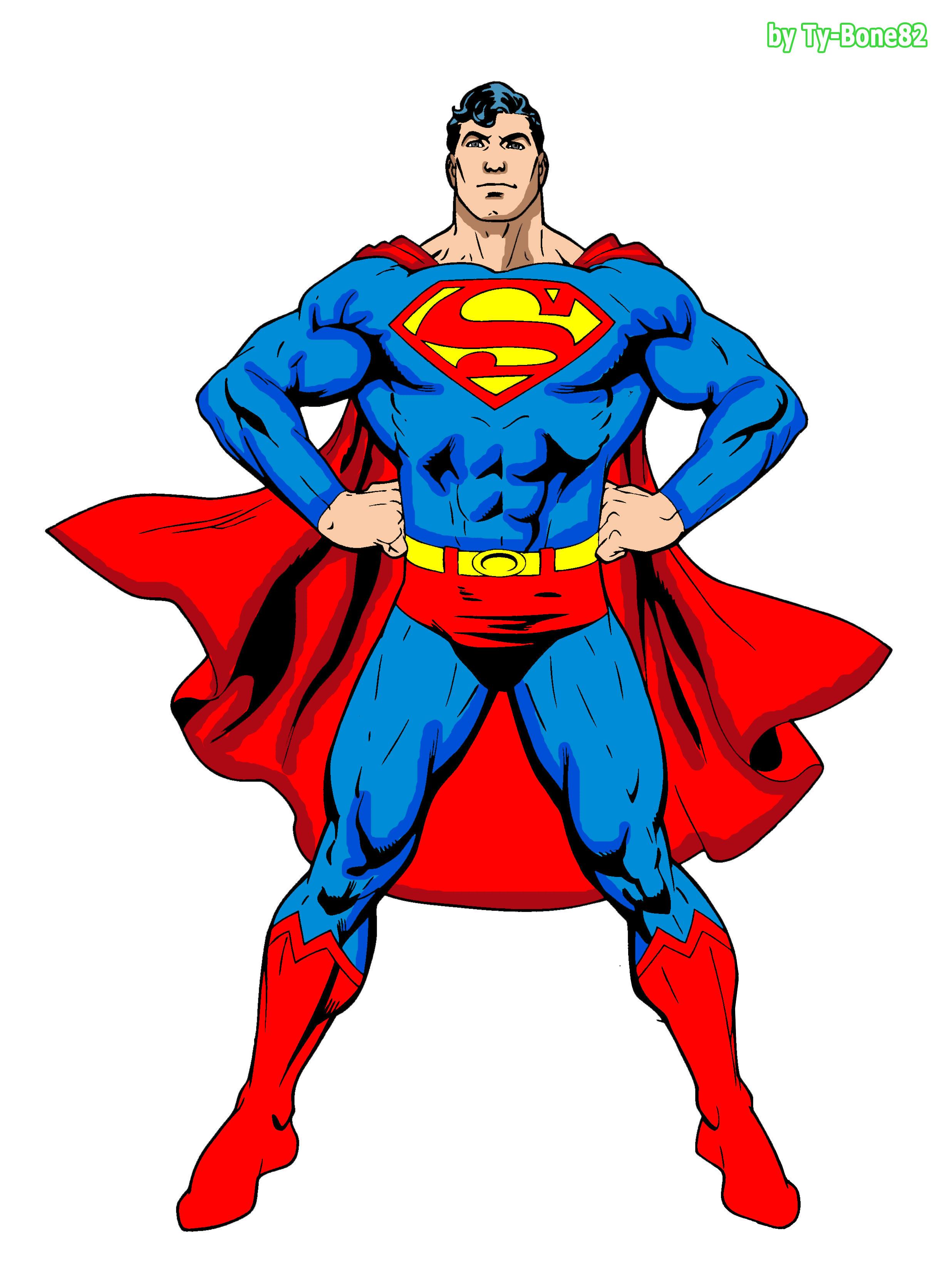 Superman Final Color By Super TyBone82 On DeviantArt