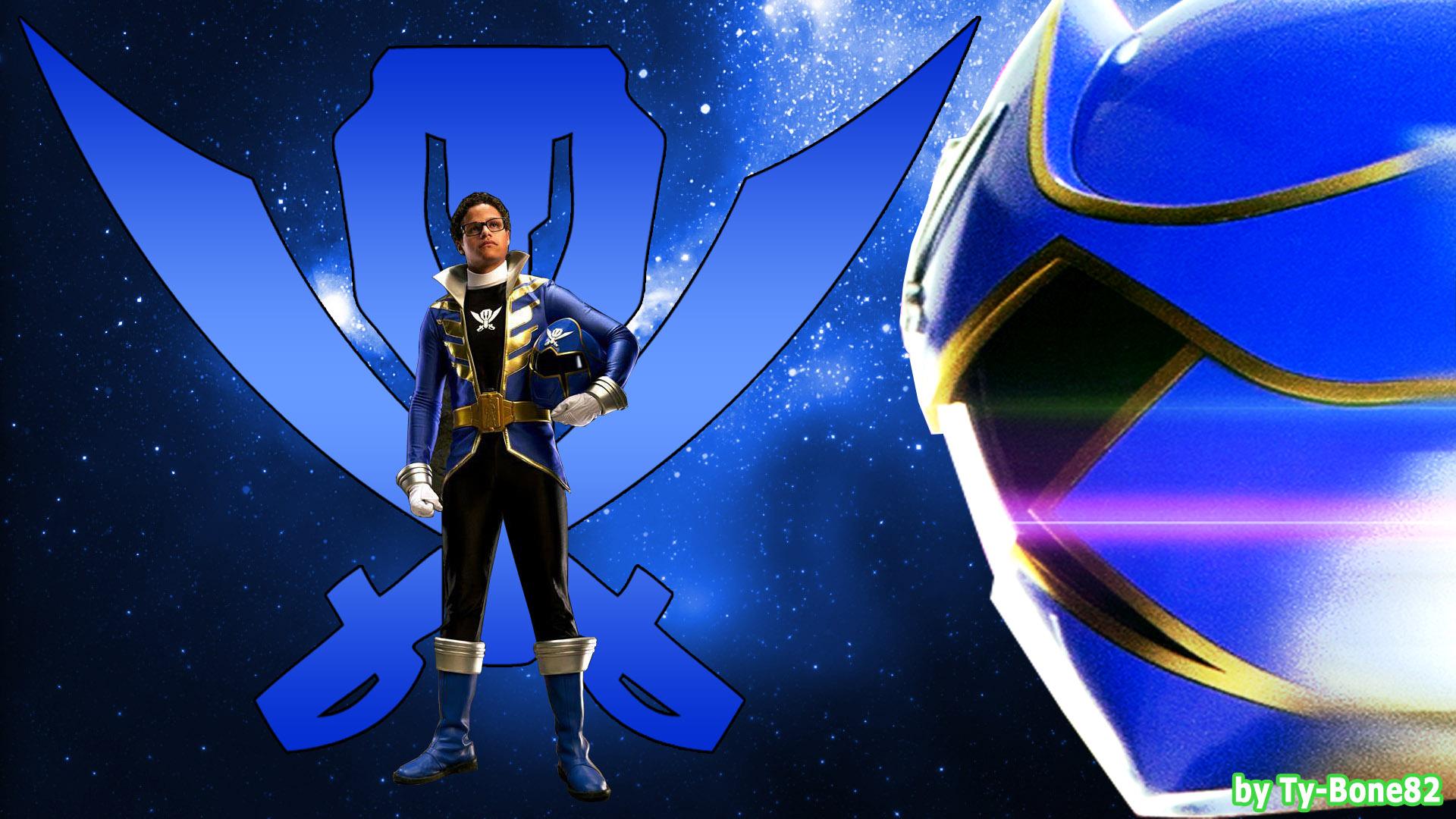 Super Megaforce Blue Ranger Wallpaperhd 001 By Super Tybone82 On