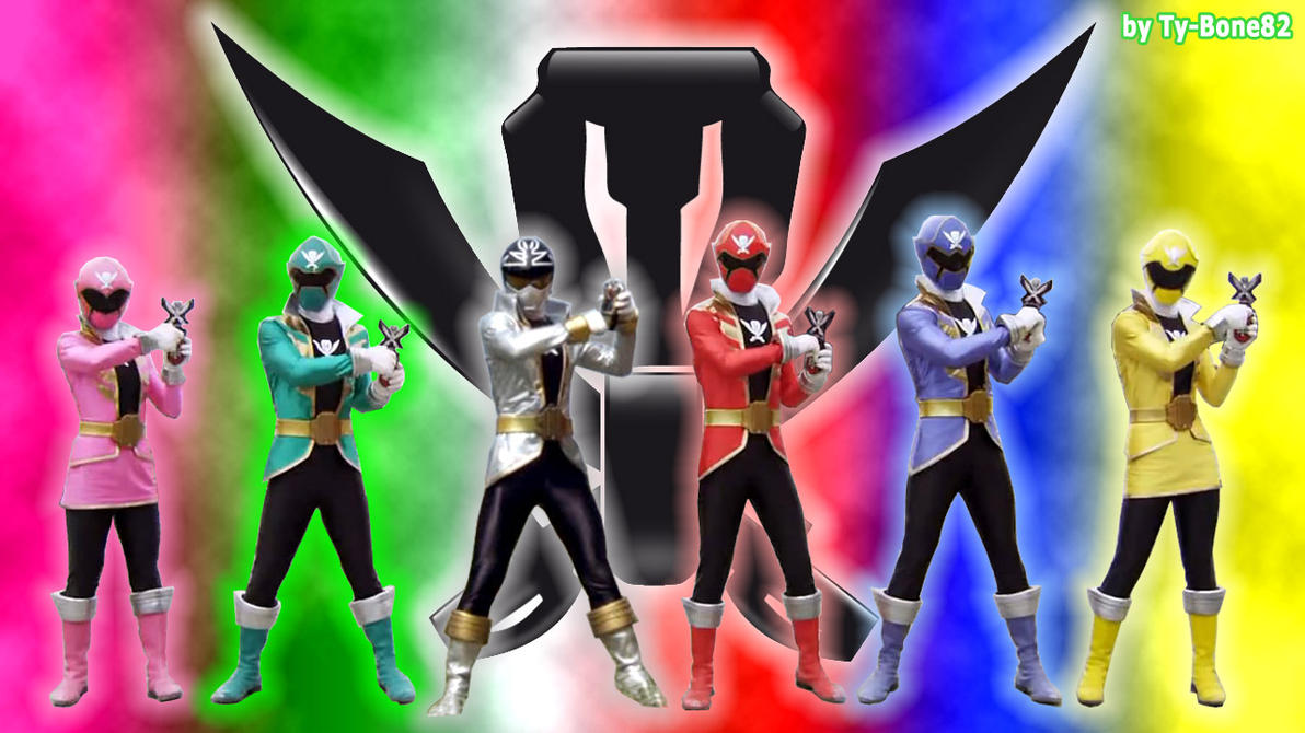 Power Rangers Super MegaForce - WallpaperHD-002 by Super ...