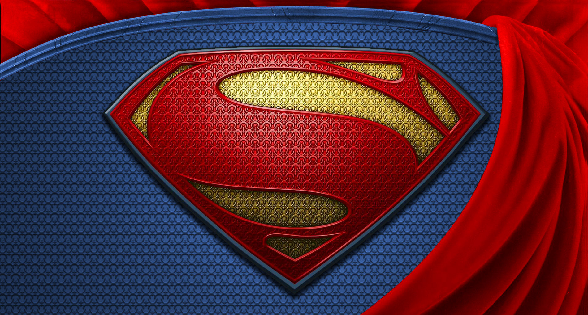 superman man of steel wallpaper logo hd by super