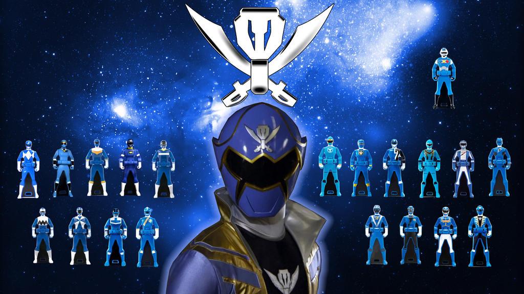 Power Rangers Super Megaforce Blue Ranger 001 By Tybone82 On