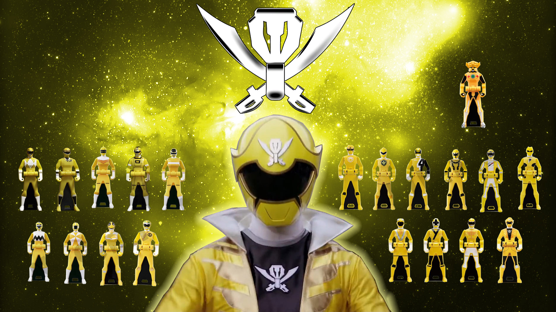 yellow power ranger megaforce - photo #16