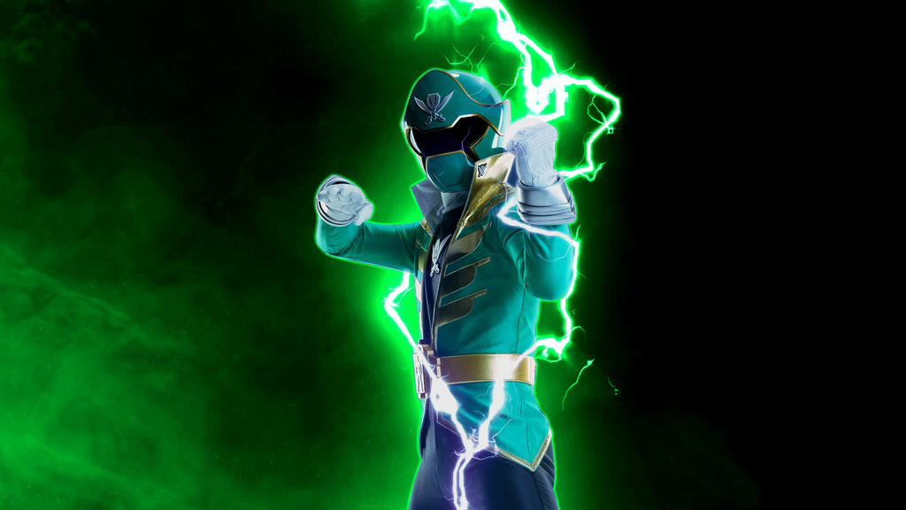 Power Rangers Super MegaForce (Green Ranger-002) by Super ...