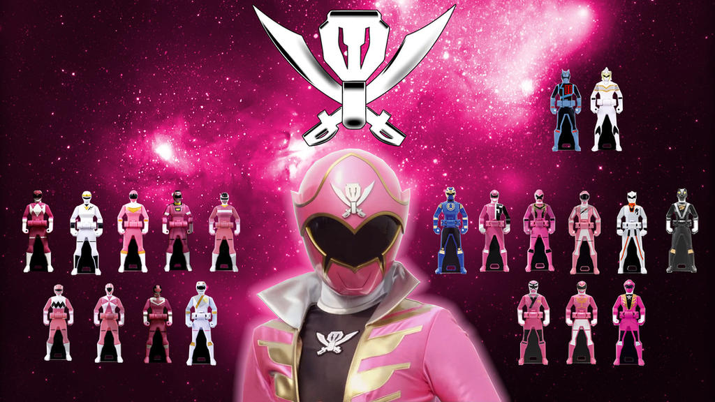 Power Rangers Super MegaForce (Pink Ranger-001) by Super ...