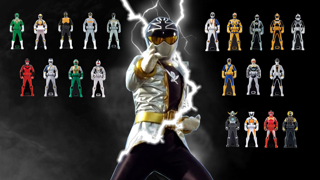 Power rangers super megaforce silver ranger key
