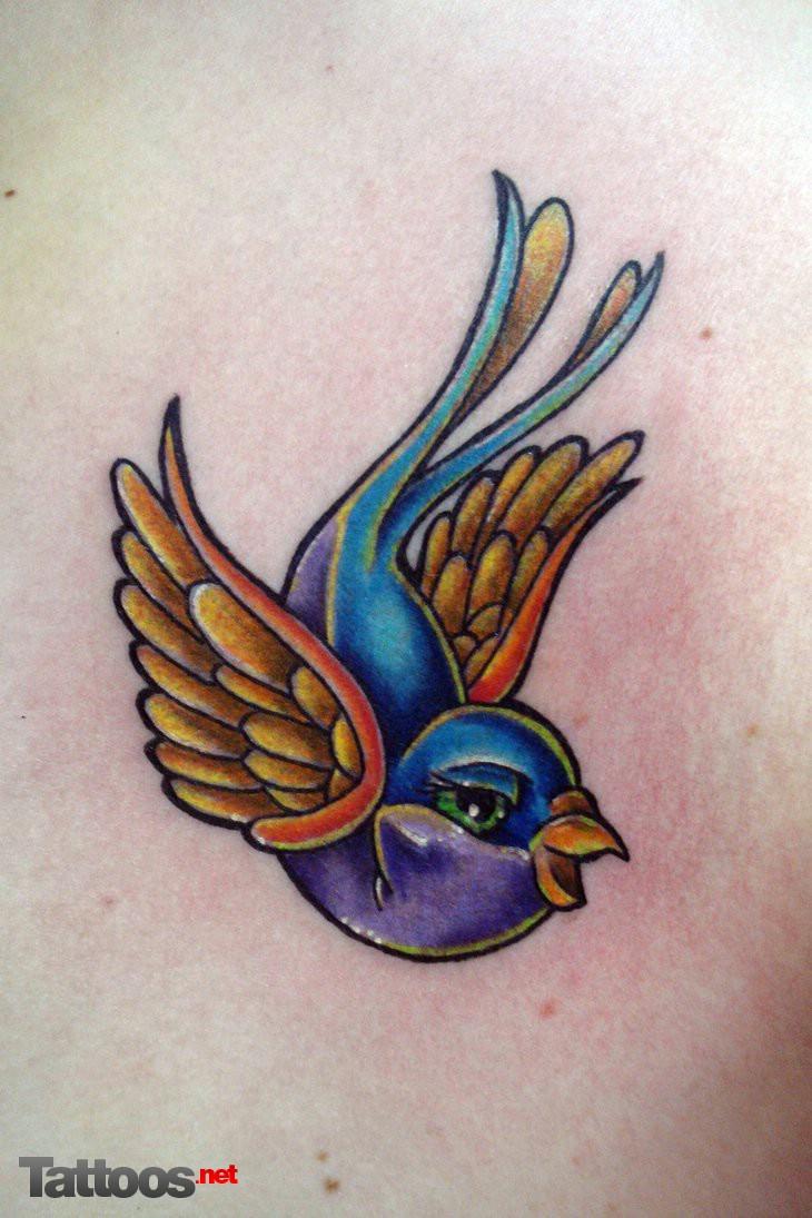 swallow tattoos by tattoosdotnet on