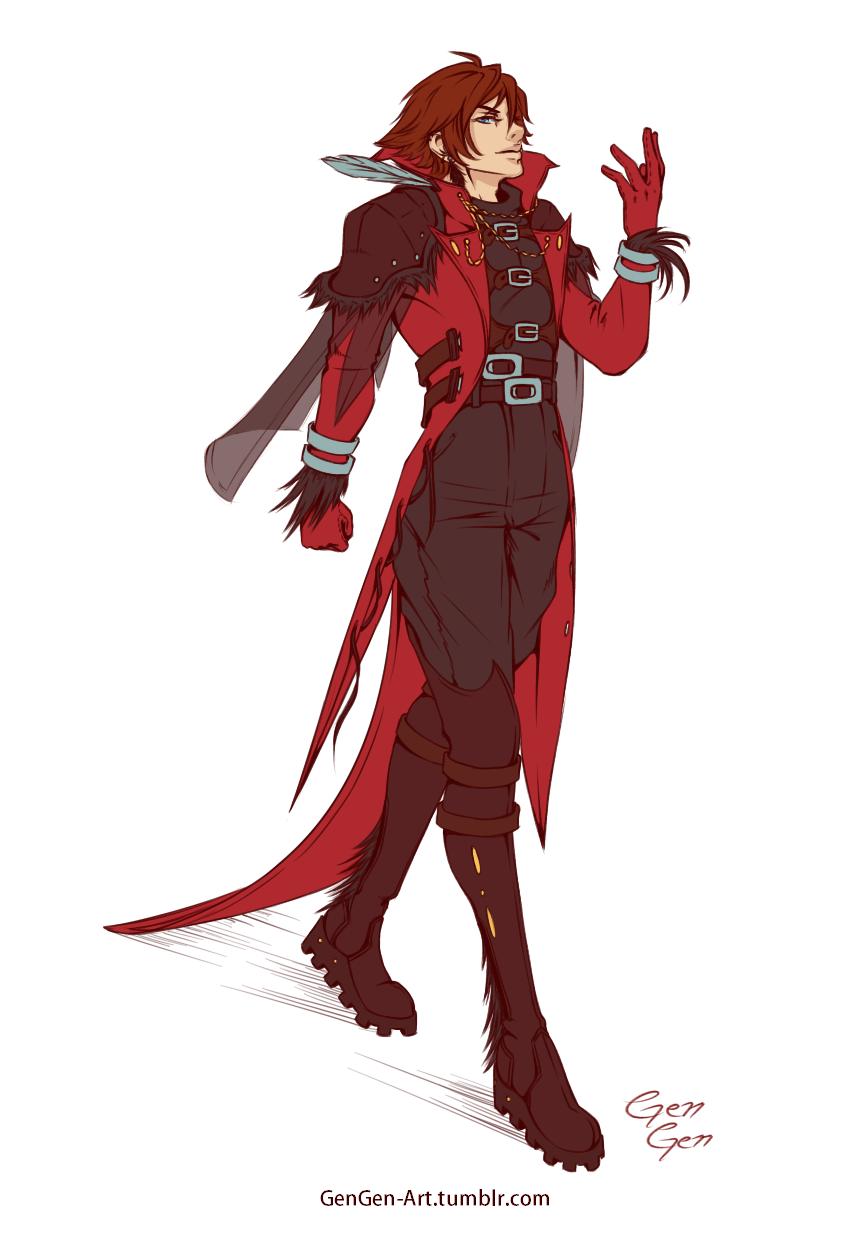 Genesis Rhapsodos Coat redesign by GenGen-Art