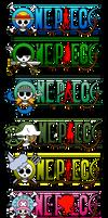 One Piece Logo (Straw Hats Crew) 2Y Post Timeskip