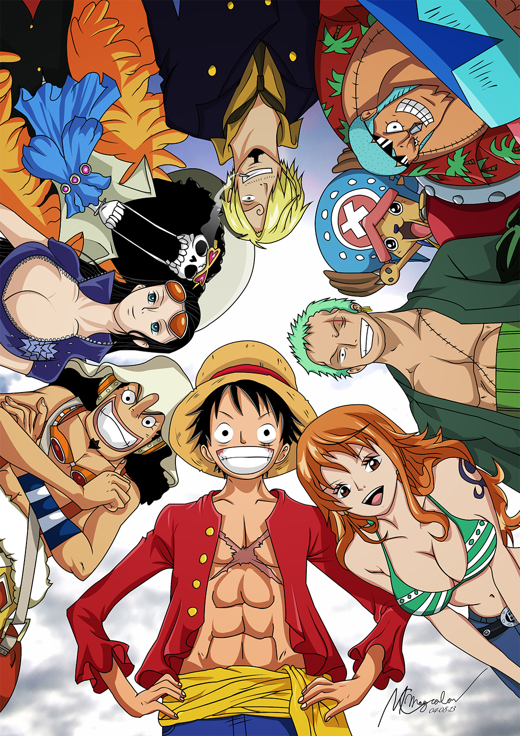 Strawhat Pirates 2Y Post-Timeskip by mcmgcls