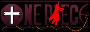 One Piece Logo (Dracule Mihawk)