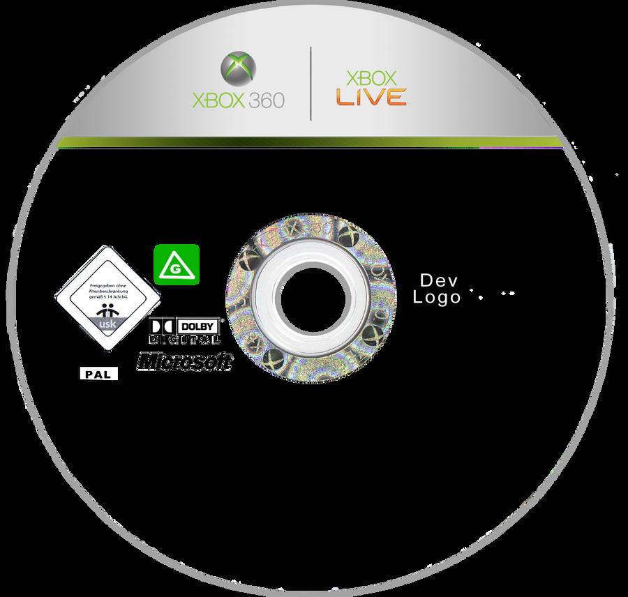 Xbox Disc Template! By Georgiajedward On DeviantArt