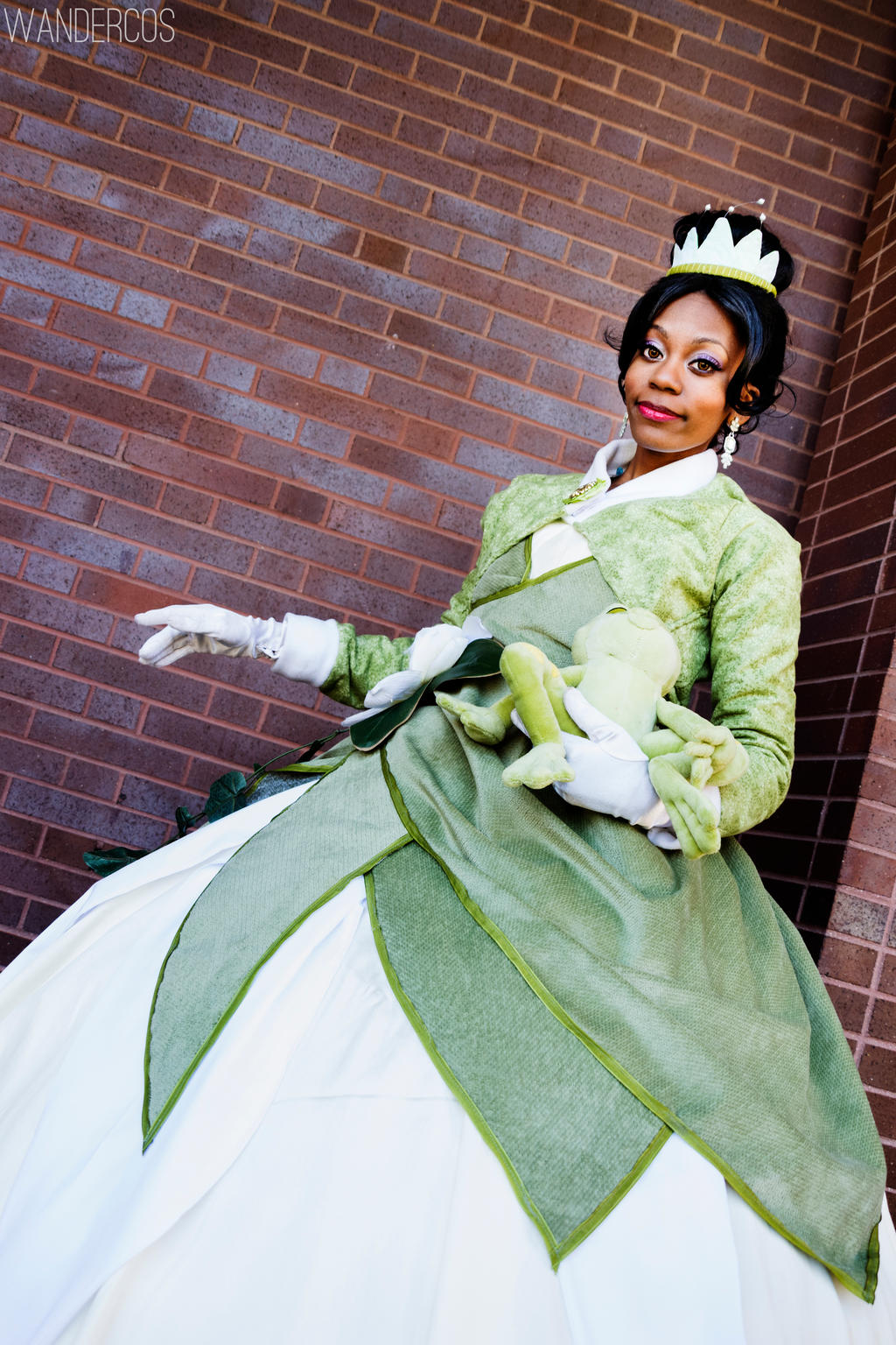 Princess and the frog cosplay