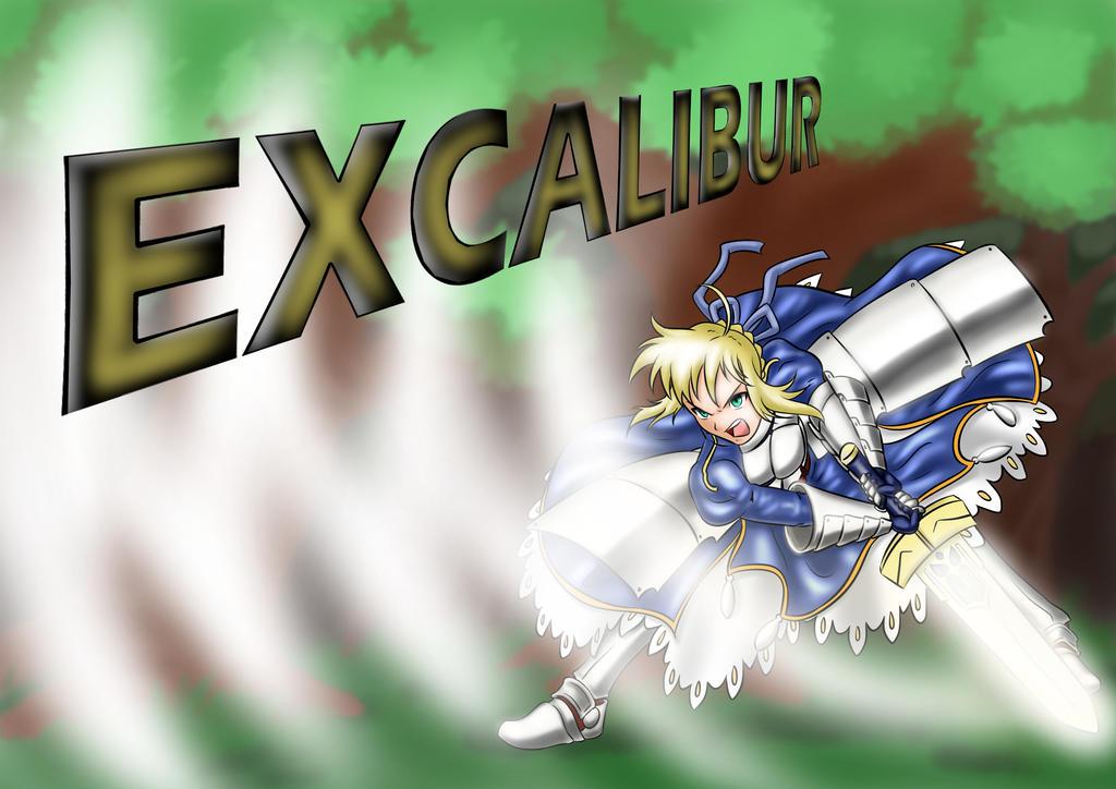 Saber Excalibur by rcanheta