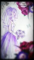 Lavender Bride by Grimbunny1