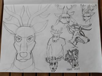 Beastars Sketches - Louis