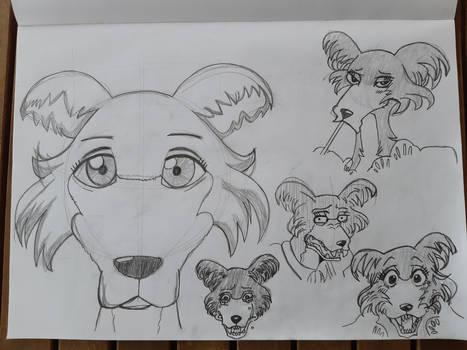 Beastars Sketches - Juno