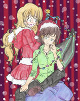Share christmas with you by Neridy