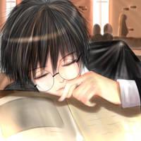 Harry Potter - Catnap by crazy4cloud