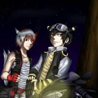 [MI] Gabou et Kyzou by NyuSho